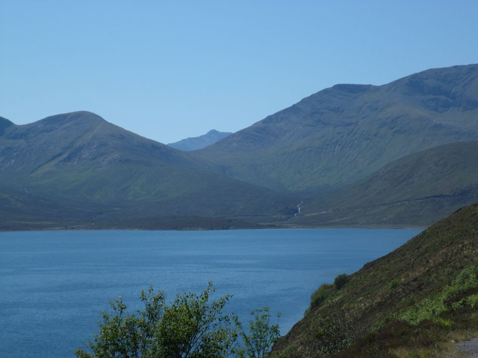 Loch Ainort and Marsco from the Moll Road