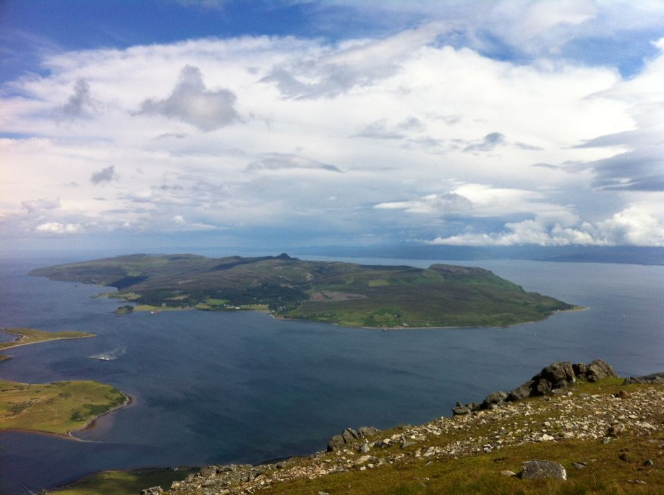 Raasay from Glamaig
